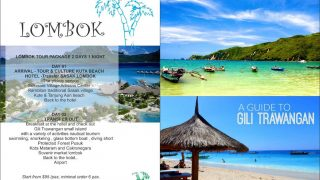 LOMBOK TOUR PACKAGE 2 DAYS 1 NIGHT