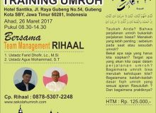One Day Training Umroh
