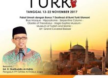 RENCANA PERJALANAN UMROH PLUS ONE DAY TURKI